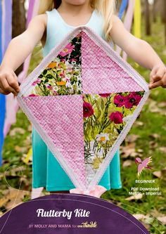 Flutterby Kite//By Molly and Mama for One Thimble Issue 12//www.onethimble.com.au