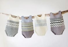 Body baby 0-24 months. Free pattern. Is in Norwegian but with google translate I think it will be doable. They are so cute