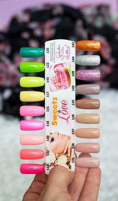 Nail Ring, Color Swatches, Love Nails, Nail Colors, Nail Designs, Nail Art, Sweets, Piercings, Rings