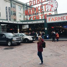 First day in #Seattle! And so far I'm surviving the cold weather.