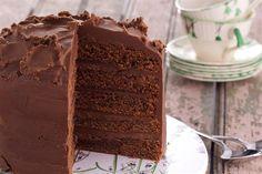Torta de Chocolate glaseada