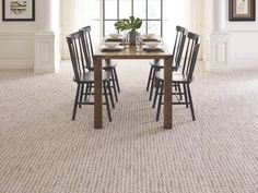 Shaw Floors Bellera Lead The Way Snow Fall Patterned Carpet, Trends we love! Best Carpet, Diy Carpet, Wall Carpet, Carpet Stairs, Modern Carpet, Carpet Tiles, Carpet Flooring, Rugs On Carpet, Hotel Carpet