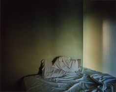 Todd Hido photo of bed.