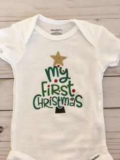 Baby Christmas First Christmas Onesie Christmas Onesies Baby First Christmas Outfit Christmas Baby Shower Christmas tree hat Baby's First Christmas Outfit, Christmas Tree Hat, Babies First Christmas, 1st Christmas, Christmas Wedding, Christmas Ideas, Xmas, Christmas Decorations, Baby Christmas Onesie