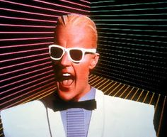 Max Headroom was super popular in the '80s.