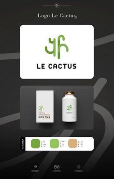Logo brand tea « le cactus » #logo #logotype #cactus #logocactus #tea #teacup #teadesign #ideas #logoideas #creative #label #draw #lecactus #mediathink #graphicdesign #inspiration #tealogo #box #boxtea #boxoftea #teabox #visualmerchandising #packaging Tea Logo, Logo Branding, Logos, Tea Design, Tea Brands, Visual Merchandising, Teacup, Cactus, Label