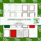 This is a set of Christmasy Doodle Frames that I drew.  I hope you can use them to create items for school or home. They are all Png files for easy...
