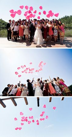 Balloons in weddings are not tacky...