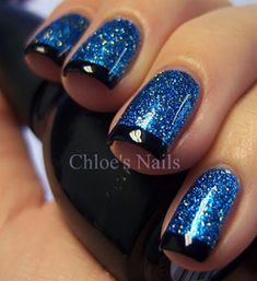 18 Beautiful French-Style Nail Art Ideas You Must Love A French-style manicure suits absolutely any occasion or style and it never goes out of fashion. Check out this list of French-style nail art ideas that you must try. Fabulous Nails, Gorgeous Nails, Pretty Nails, Get Nails, Fancy Nails, Chloe Nails, Nagel Hacks, Manicure E Pedicure, Nagel Gel