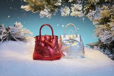 An unique Holiday Season with #Repetto 'Arabesque' small shopping bags www.repetto.com