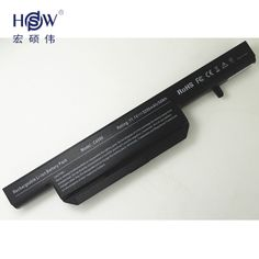 HSW Replacement Laptop Battery C4500BAT-6 6-87-C480S-4P4 for CLEVO C4500 C4500Q B4100M B4105 B5130M W150 W170HN Series bateria
