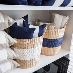Possibly our favourite colour combination? #navy #neutral #white
