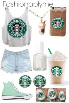 love Starbucks a little too much Not everything all at the same time, but all cute, just needs to be mixed with different outfits.Not everything all at the same time, but all cute, just needs to be mixed with different outfits. Teen Fashion Outfits, Cute Fashion, Outfits For Teens, Summer Outfits, Casual Outfits, Girl Outfits, Womens Fashion, Fashion Fashion, My Starbucks