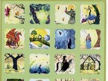 Fantasy Sticker / Aufkleber Bogen