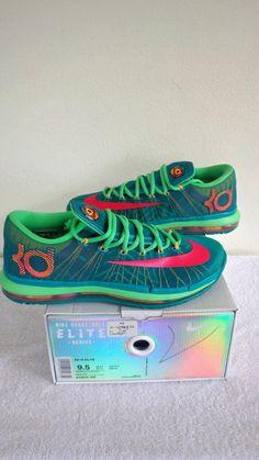 Nike Air Zoom KD VI 6 Elite Durant Hero Green Vivid Pink Mens 642838 300 Sz 9.5 #Nike #Athletic