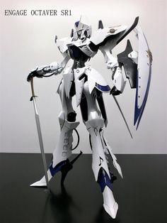 エンゲージSR1 Five Star, Mobile Suit, Plastic Models, Gundam, Robot, Knight, Sci Fi, Characters, Fantasy