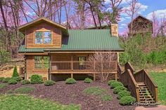 Lovers Paradise cabin rental in Pigeon Forge, TN. Lover's Paradise is a beautiful 2 bedroom cabin. Each bedroom offers a King size bed and a private Jacuzzi tub. The loft area provides for some entertainment with an air hockey table and a multi game arcade game. There is also a side entrance to the cabin with a ramp. You are sure to have a memorable vacation in the Smokies!