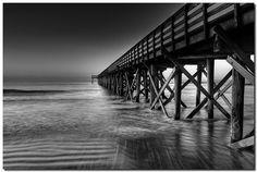 Isle of Palms Pier - Photo by Eric Morris (flickr: restedtraveler).
