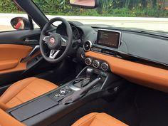 2017 Fiat 124 Spider Lusso interior