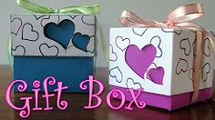 gifts to make with boxes - YouTube