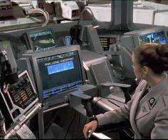 Huge Flight Computers in Starship Troopers Starship Troopers, Finger Print Scanner, Drinking Water, Concept Art, Sci Fi, Novels, Computers, Paul Verhoeven, Airplanes