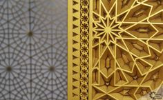 Arabian latticework wood carved doors Egypt | Carved Wood Ceilings