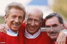 Manchester United football legends Denis Law (l) Bobby Charlton and George Best (r) at the launch of the Sky Sports Gold channel in Manchester United Images, Manchester United Legends, Manchester United Football, Best Football Team, Retro Football, Vintage Football, Man Utd Squad, Bobby Charlton, Premier League Champions
