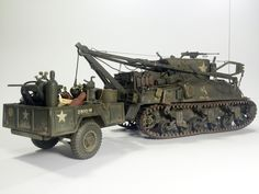 M32B1 Tank Recovery Vehicle 1:35 by Daz (MModels)