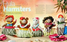 Hamster Toys, Hamsters, Craft Patterns, Knitting Patterns, Alan Dart, Modern Toys, Hula, Stuffed Toys Patterns, Cross Stitch