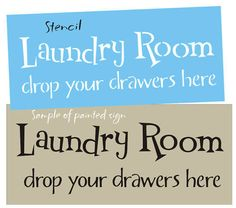 Country Decor STENCIL Laundry Room Drop Drawers Lake Cabin Home Primitive Signs picclick.com