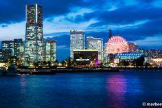 横浜のマジックアワー 横浜を象徴する風景