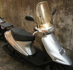 アドレスv100(スクーター)に風防を取り付け|バイクと過ごす写真日記