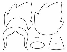 How to Make an Adventure Time Flame Princess plushie template tutorial