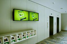 Liftbereich / Screens EG Innsbruck, Soho, Elevator, Screens, Architecture, Gallery, Projects, Design, Concept