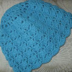 crocheted hat #crochet #hat
