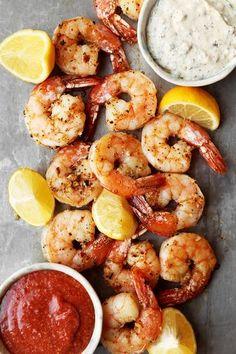 Roasted Shrimp Cocktail   The Candid Appetite   Bloglovin'