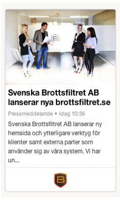 Idag lanseras nya brottsfiltret.se