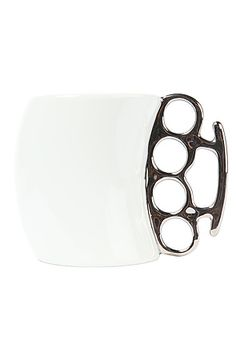 The Fisticup Brass Knuckles Mug by FRED