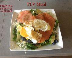 Zalmsalade #gezond #eten #zalm