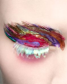 AMORE (Beauty + Fashion): Makeup Couture - eyes