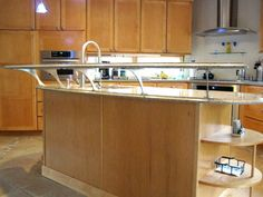 Granite Breakfast Bar Support Brackets | Foremont Elevated Supports