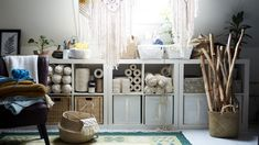 15 spare room ideas: from craft rooms to home gyms. These spare room ideas will inspire you to make the most of that extra room in your home, be it a home gym, guest bedroom or even craft room Extra Bedroom, Kids Bedroom, Bedroom Ideas, Ideas For Spare Bedroom, Bedroom Closets, Kallax Shelving, Ikea Family, Hobby House, Home Comforts
