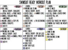 Summer time is here! It's not too late to get your swimsuit body rockin! START TODAY!!!!