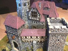 Hirst Arts Medieval village
