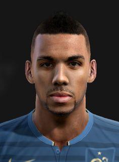 M'Vila face for Pro Evolution Soccer 2012