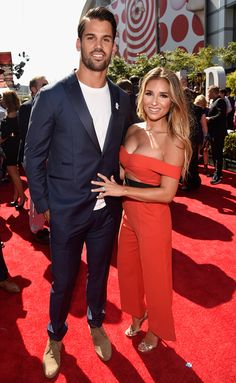 Jessie James Decker and Eric Decker at the 2016 ESPYs - click through to see their photo diary!