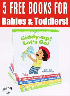 Toddler Activities at Home! 18 months, 2 & 3 year olds will LOVE these fun board books! Got a future little reader… or do you know someone that does? These sturdy early readers are a fun way to get your baby reading young! Have you gotten yours yet?? Free Baby Stuff, Cool Baby Stuff, Gifts For New Moms, Gifts For Girls, Baby Shower Gifts, Baby Gifts, Board Books For Babies, Baby Freebies, Virtual Baby Shower