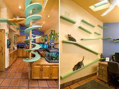 Cat Furniture Ideas For Crazy Cat People   Rotten Panda