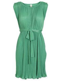 WINDOW DRESS/T, MING GREEN