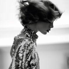 BRIGHT STAR Vogue Paris March 2016 Photographer: David Sims Fashion Editor: Emmanuelle Alt Model: Edie Campbell